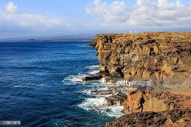 green energy windmills hawaii - big island hawaii islands stock pictures, royalty-free photos & images