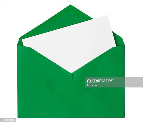 green envelope ストックフォトと画像 getty images