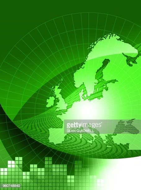 Green europe template