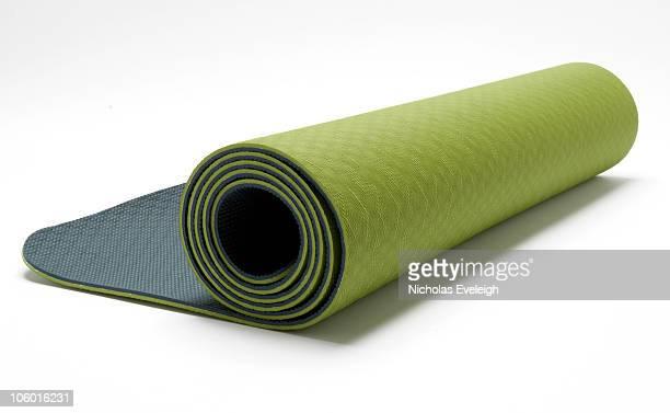 Green exercise matt