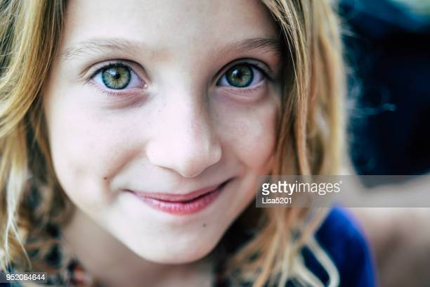 green eyed girl - green eyes stock pictures, royalty-free photos & images