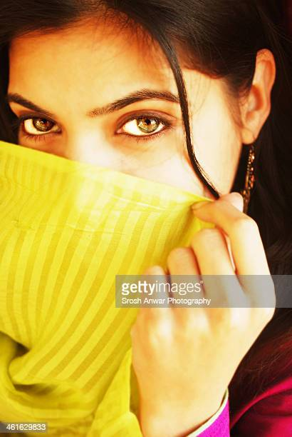 green eyes - pashtun stock photos and pictures