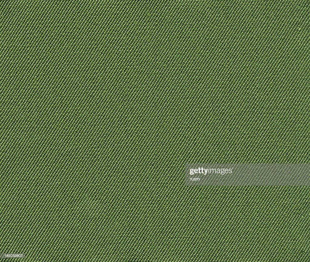 Green fabric background : Stock Photo