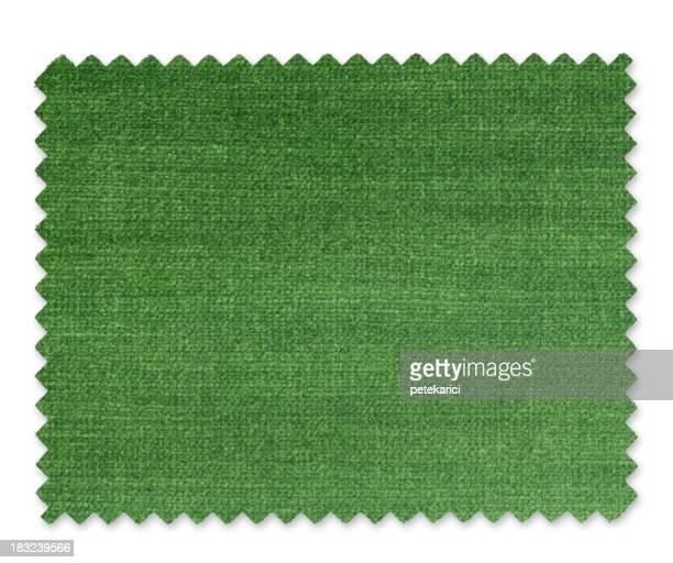Vert Échantillon de tissu