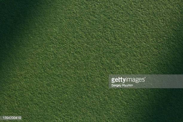 green felt with shadow - velvet stock pictures, royalty-free photos & images