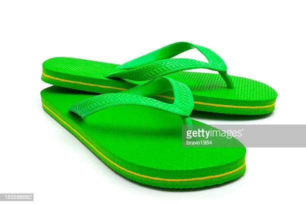 Green flip flop