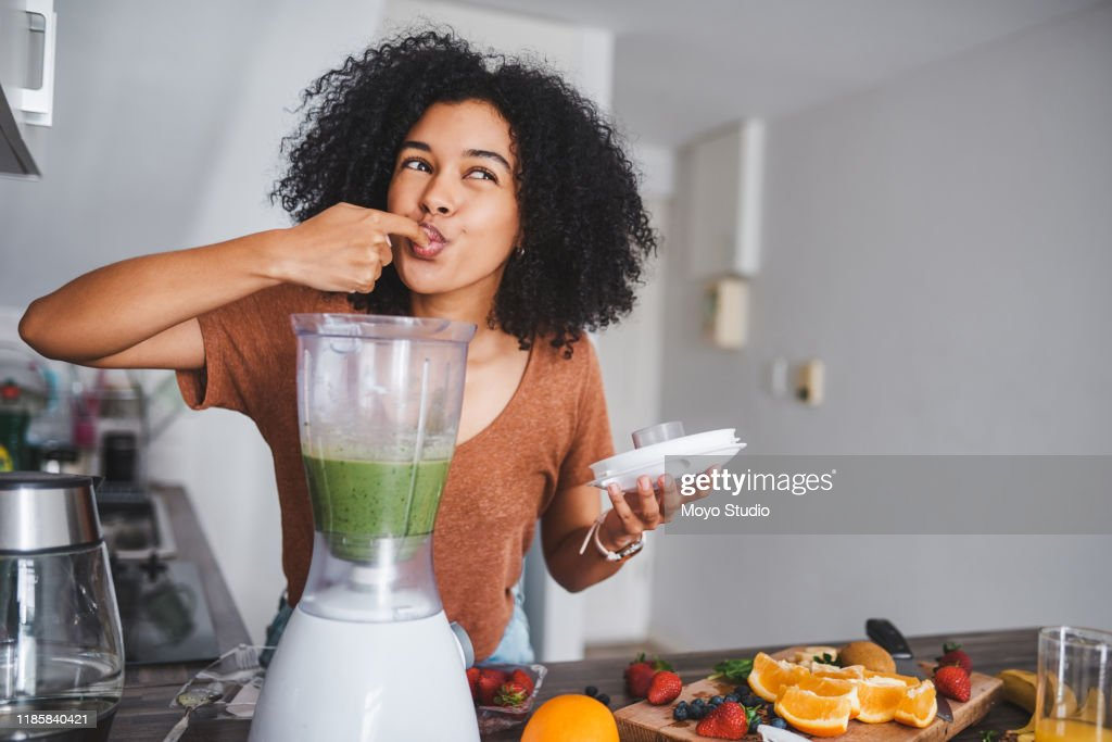 Green food does the body good : Stock Photo