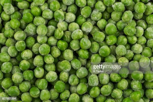 green frozen raw peas - congelado imagens e fotografias de stock