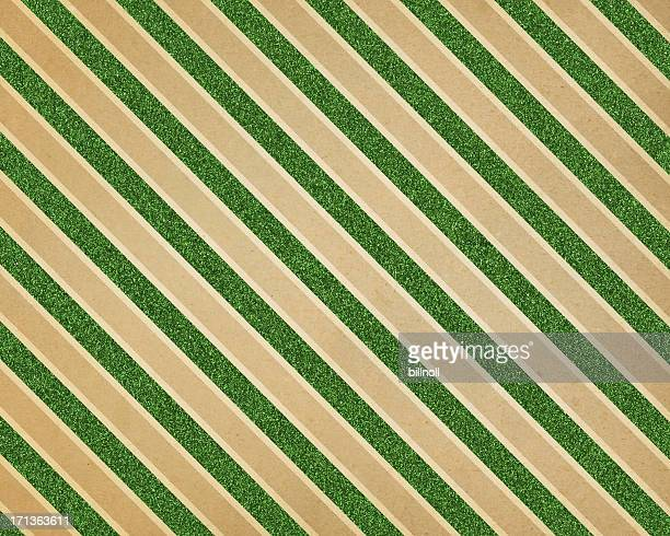 green glitter diagonal stripe paper