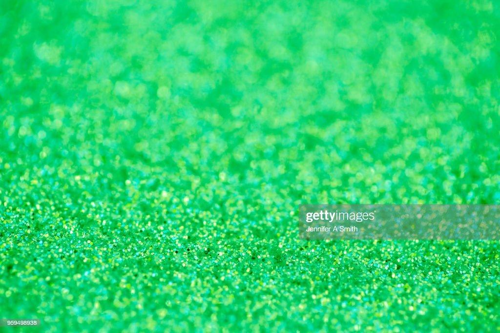Green Glitter : Stock-Foto