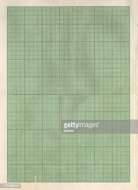 Verde Papel gráfico
