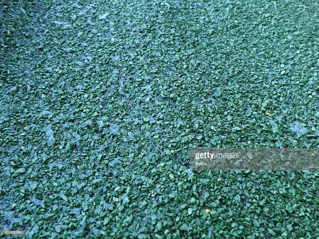Green gravelly texture : Stock Photo