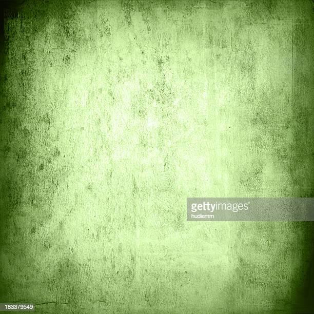 Green grungy wall texture