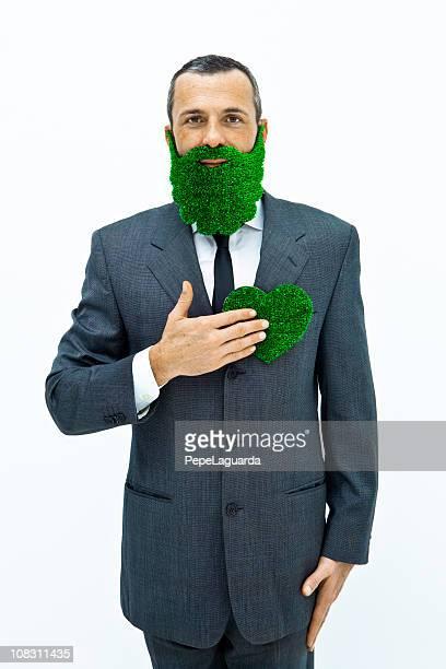 グリーンの中心
