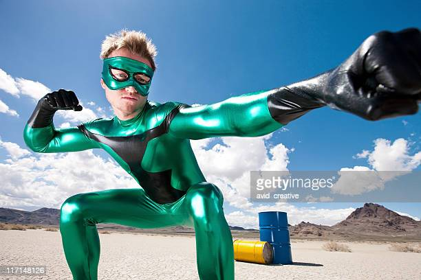 Green Hero Fights Toxic Waste
