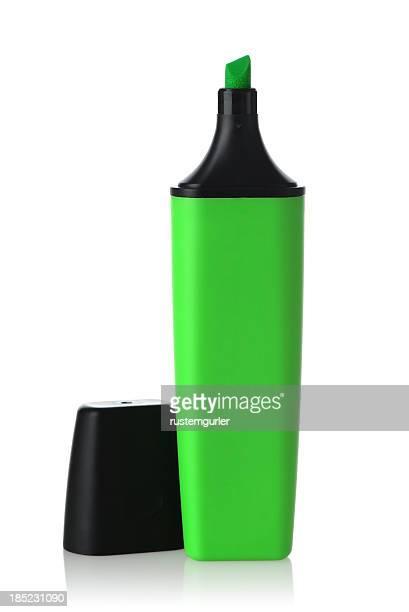 グリーン蛍光ペン