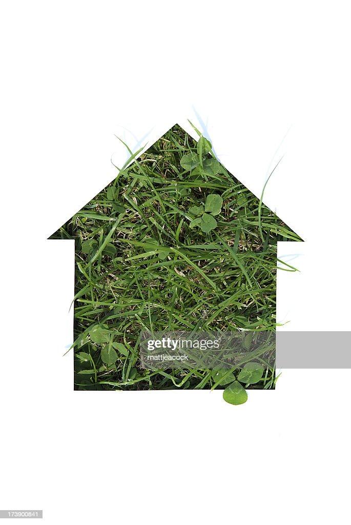 Green Housing : Stock Photo