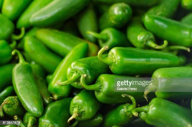 Green Jalapeño Peppers