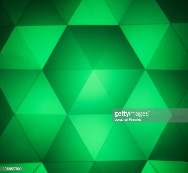 green kaleidoscope pattern - green colour stock pictures, royalty-free photos & images