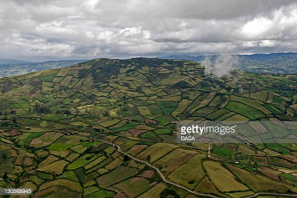 green landscape - nariño department stock photos and pictures