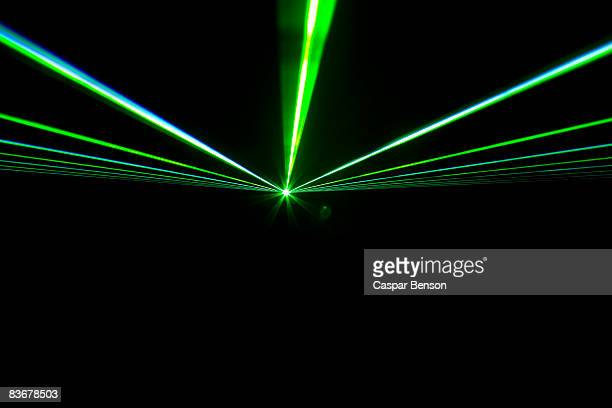 Green laser lights