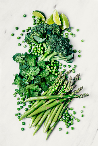 Green leafy vegetables - gettyimageskorea
