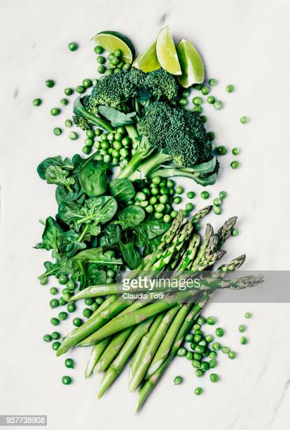 green leafy vegetables - freshness stockfoto's en -beelden
