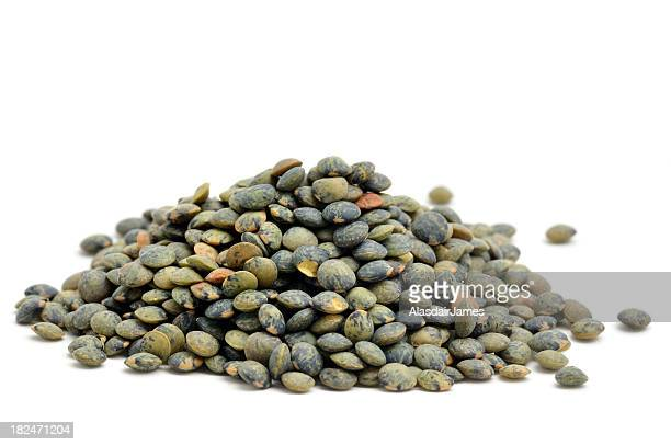 green lentils - lentil stock pictures, royalty-free photos & images