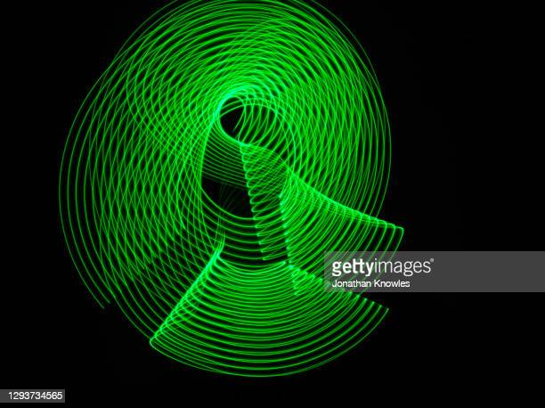 green light lines - motion stock pictures, royalty-free photos & images