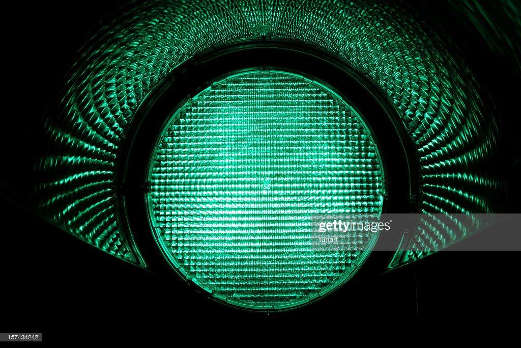 Green Light : Stock Photo