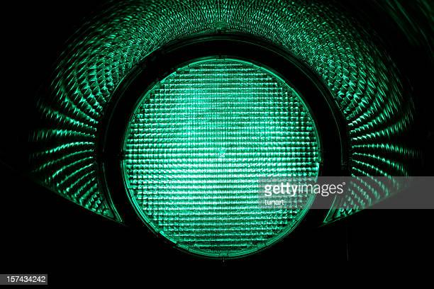 green light - road signal stock pictures, royalty-free photos & images
