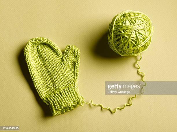Green Mitten Unraveling