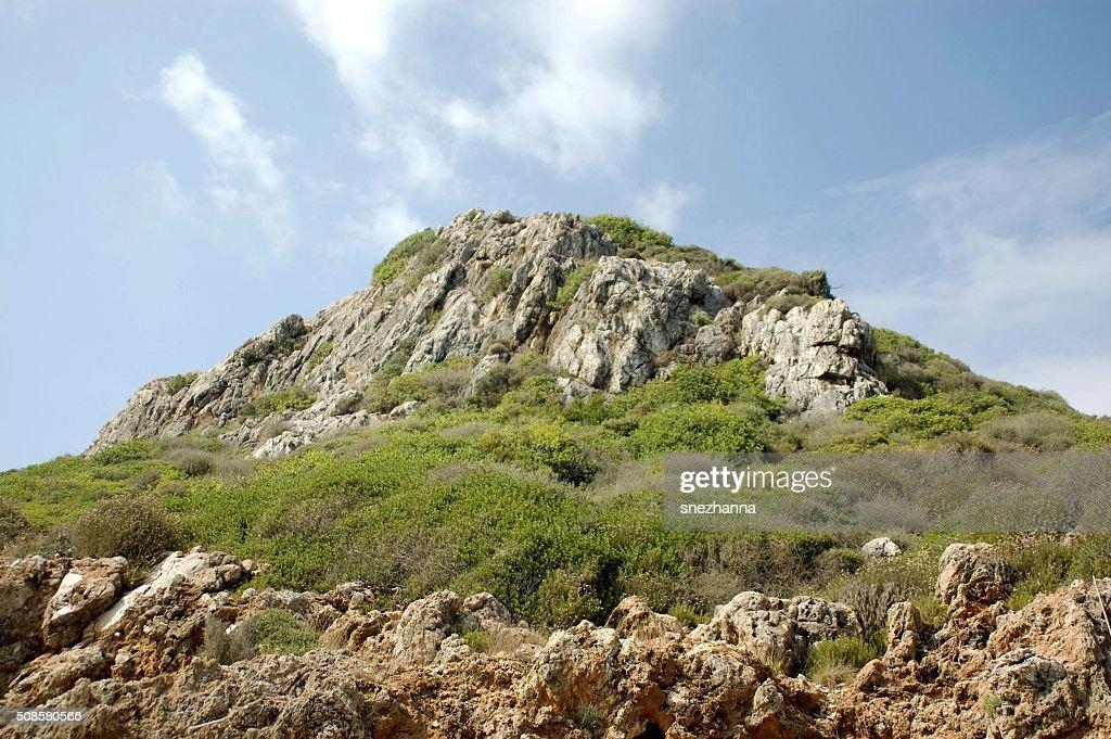 Verde mountain : Foto stock