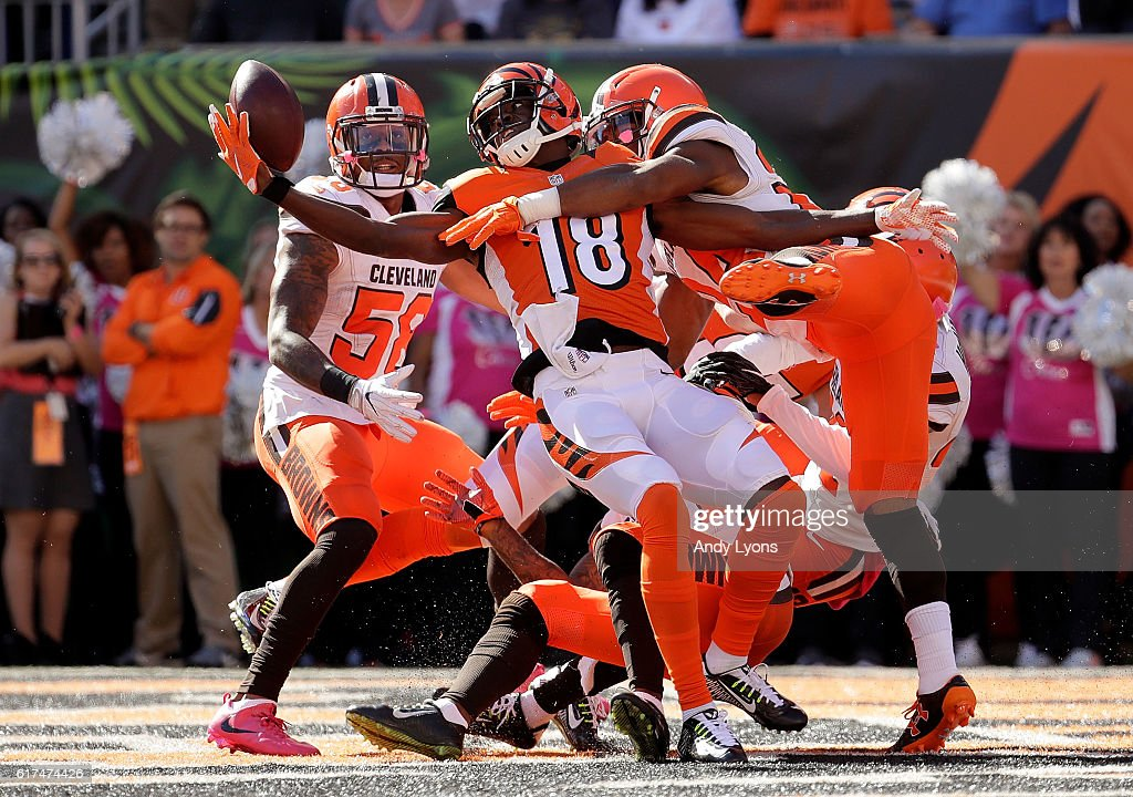 Cleveland Browns v Cincinnati Bengals : News Photo