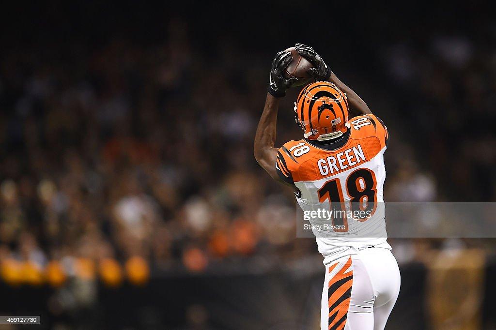 Cincinnati Bengals  v New Orleans Saints : News Photo
