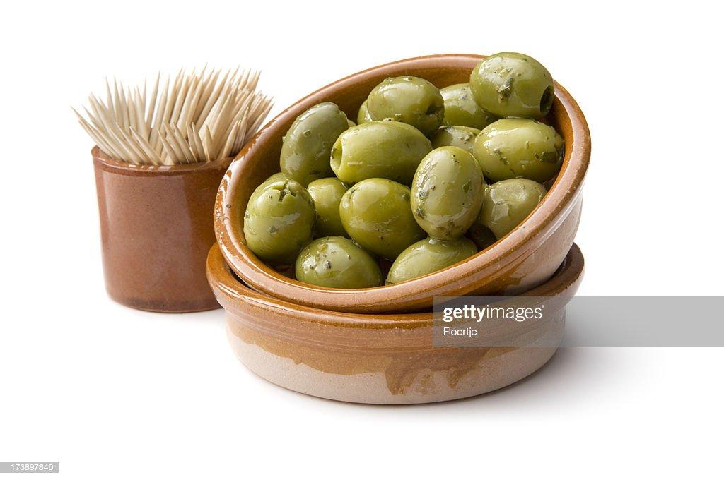 *azeitonas verdes : Foto de stock