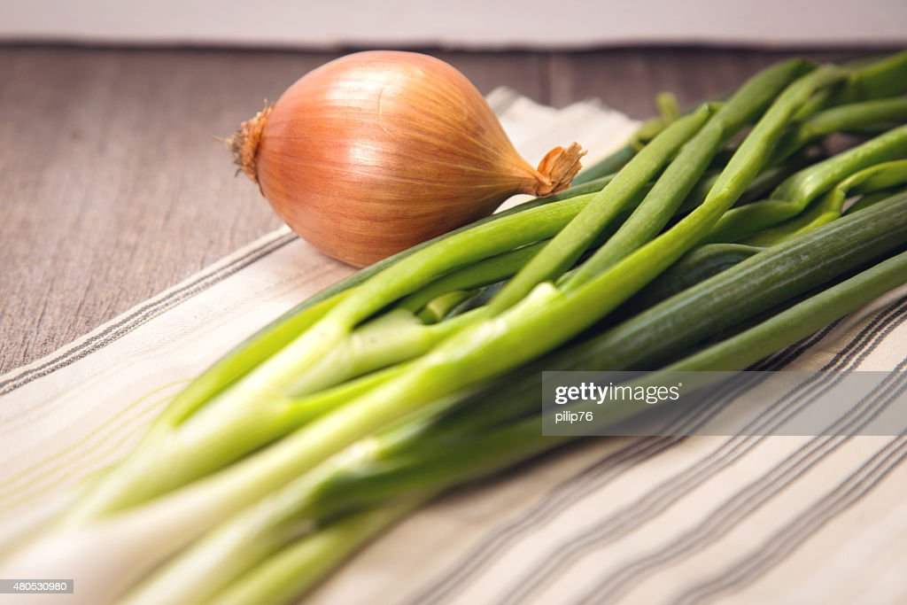 green onion : Stock Photo