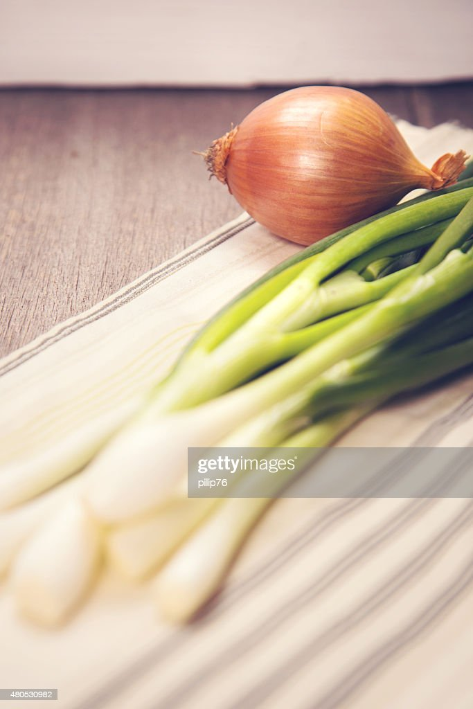 green onion : Stockfoto