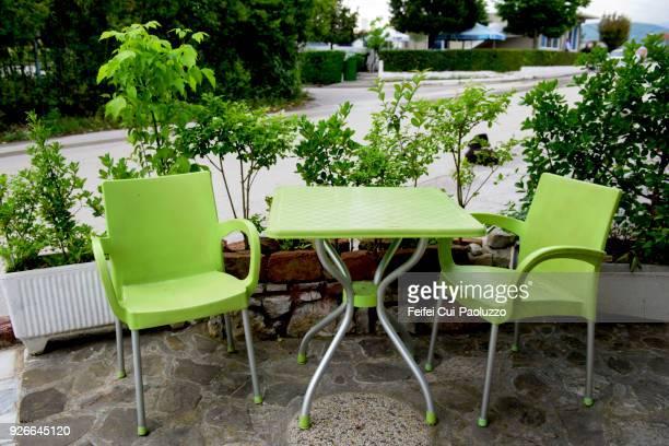 Table Plastique Jardin Photos Et Images