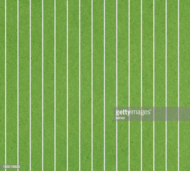 green paper with stripe
