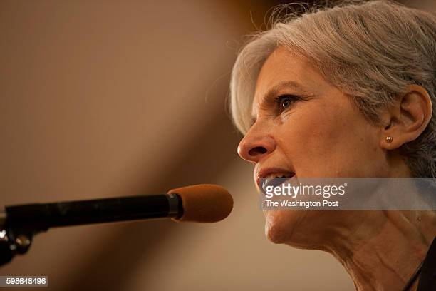 SPRINGS CO AUG Green Party Candidate for President Jill Stein speaks inside All Souls Unitarian Church in Colorado Springs CO on Saturday August 27...