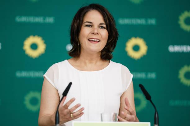 DEU: Annalena Baerbock Presents Greens Party Education Offensive