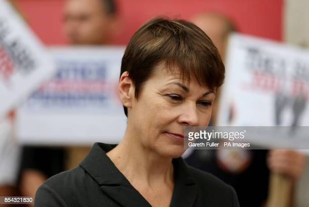 Green Party MP Caroline Lucas arrives at an FBU picket line in Brighton East Sussex the Brighton Pavilion MP has confirmed she will be prosecuted...