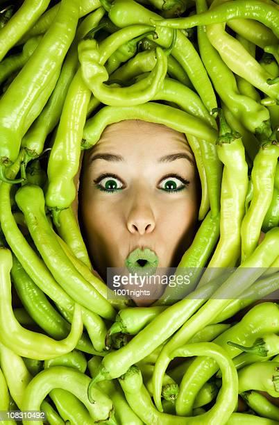 Green Pepper Girl