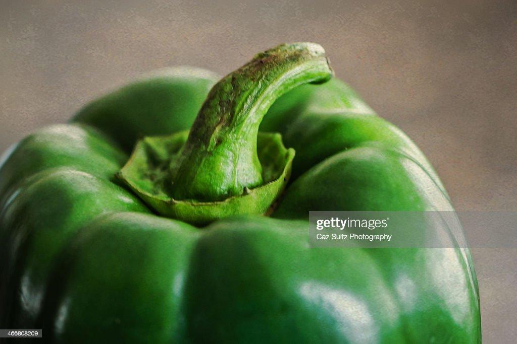 Green pepper : Stock Photo