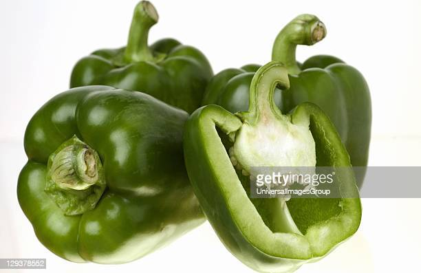 Green Peppers Green bell peppers whole and cut are excellent sources of vitamin C and vitamin A which help to avoid high cholesterol nerve and blood...