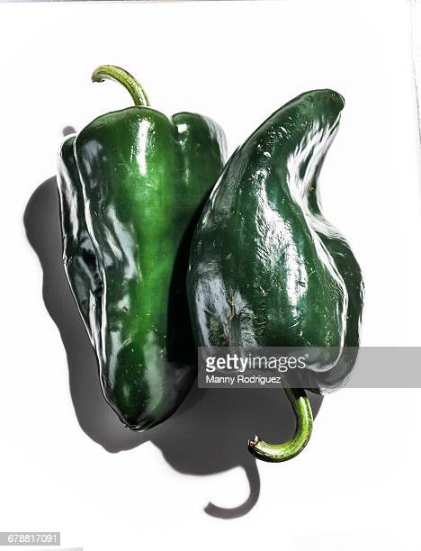 green peppers - green chili pepper stock pictures, royalty-free photos & images