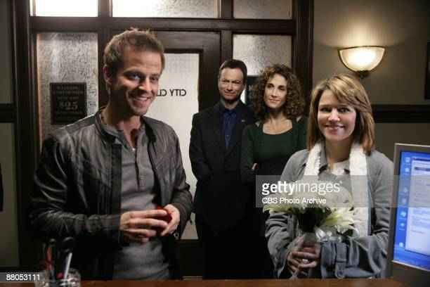 Green Piece Danny Messer and Lindsay take the plunge and say quotI Doquot on CSI NY Wednesday March 11 on the CBS Television Network Mac and Melina...