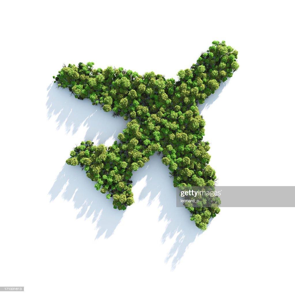 Green Plane : Stock Photo