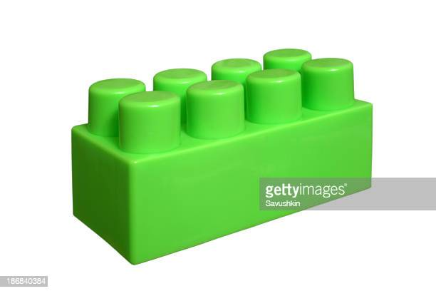 Green Plastic Block